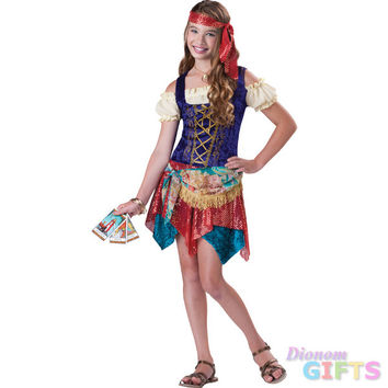 Girl's Costume: Gypsy's Spell-Large