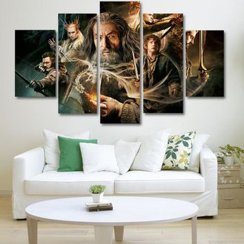 Wall Art Pictures Canvas Poster Modular Framework NEW ENGLAND PATRIOTS TOM BRADY - 5 PIECE CANVAS PAINTING  dorp shipping