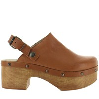 Musse & Cloud Wilma - Camel Sling-Back Clog