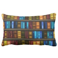 Bookshelf Library. Bookshelves Pattern. Gift Ideas