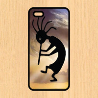 Indian Kokopelli Version 101 Art Print Cell Phone Case iPhone 4/4s 5/5c 6/6+ Case and Samsung Galaxy S3/S4/S5