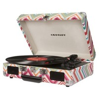 Crosley Cruiser Turntable - Multicolored Stripes (CR8005A-TP)