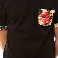 Apliiq The Glambloom Pocket Tee in Black : Karmaloop.com - Global Concrete Culture