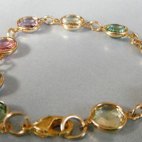 Colorful Swarovski Bracelet