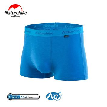 Naturehike Men hiking shorts Coolmax Underpants Quick-Drying Underwear Men Sports briefs Breathable knickers