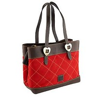 Dooney & Bourke Quilted Nubuck Leather Shopper — QVC.com