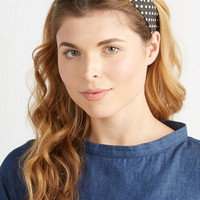 Pinup Through the Wire Headband in Spots by ModCloth