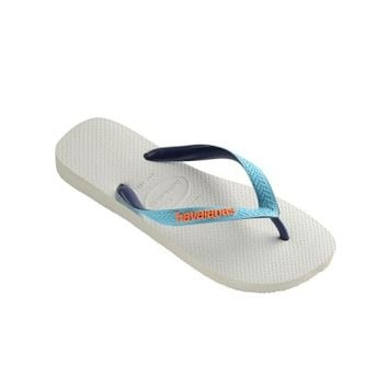 Havaianas White Top Mix Flip Flops