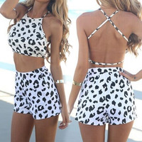 Cheetah Cross-Back Set