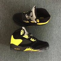 "Air Jordan 5 Retro ""Oregon Duckman"" PE Joe Young AJ5 Sneakers - Best Deal Online"