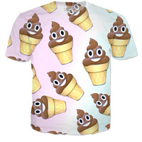 POOP ICE CREAM EMOJI SHIRT
