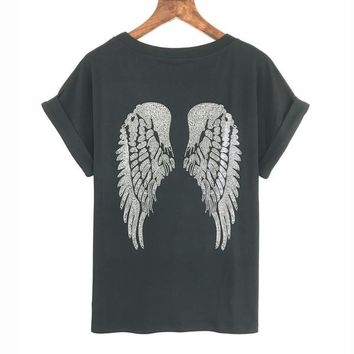 BACK WINGED TEE