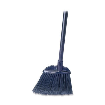 "Rubbermaid Commercial Products Lobby Broom, Polypropylene, 7-1/2"" W, 28"" Handle, Black"