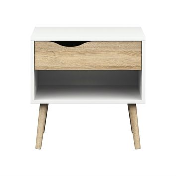 Modern Mid Century Style End Table Nightstand