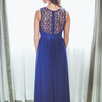 WEB EXCLUSIVE: On Your Behalf Bridesmaid Dress in Navy