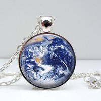 Earth Dome Pendant Necklace