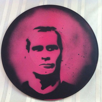Henry Rollins Record in Pink
