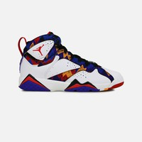 Jordan Air Jordan 7 Retro Bright Concord Grade-School (White/University Red-Black-Bright Concord) | VILLA