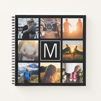 Monogram 8 Frame NGL Notebook