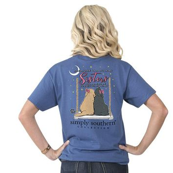 "Youth Simply Southern ""Sisters"" Short Sleeve Tee"