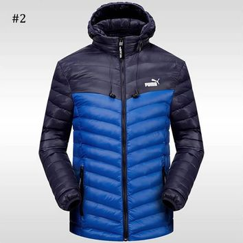 PUMA 2018 winter new sports and leisure warm down jacket #2