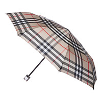 Burberry Camel Check Folding Umbrella