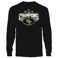 UCF Knights 2014 The American Football Champions Long Sleeve T-Shirt - Black