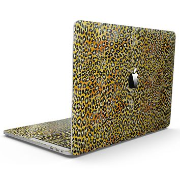Watercolor Leopard Pattern - MacBook Pro with Touch Bar Skin Kit