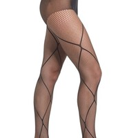 Pretty Polly Diamond Fishnet Tights | Nordstrom
