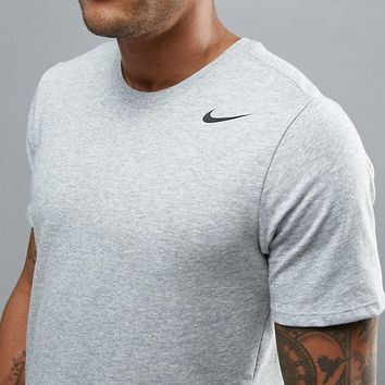 Nike Training Dri-FIT 2.0 T-Shirt In Grey 706625-063 at asos.com