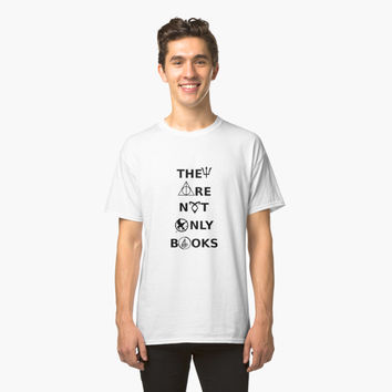 'They are Not Only Books' Classic T-Shirt by RoxanneVarza