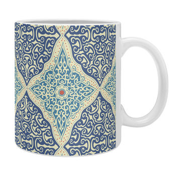 Belle13 Curly Rhombus Coffee Mug