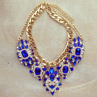 PRINCESS ARABELLA STATEMENT NECKLACE