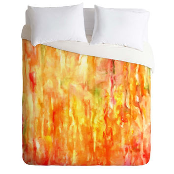 Rosie Brown Shower of Color Duvet Cover