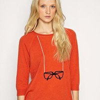 Whistles Intarsia Spectacle Sweater at ASOS