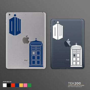 iPad sticker pack Doctor Who. Die cut vinyl decal for iPad mini iPad Air original iPad 2 3 and Retina display Peter Capaldi 023