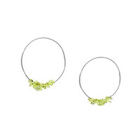 BOULE HOOP EARRINGS