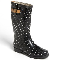 Women's Chooka 'Classical Dot' Rain Boot