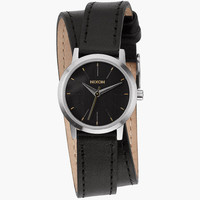 Nixon Kenzi Wrap Watch Black One Size For Women 25953310001