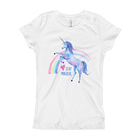 Stay Magical Girl's T-Shirt | The Inked Elephant