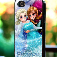 Silicone - Plastic - Disney Frozen Beautiful Movies - iPhone 4/4s, 5, 5s, 5c, Samsung S3, S4