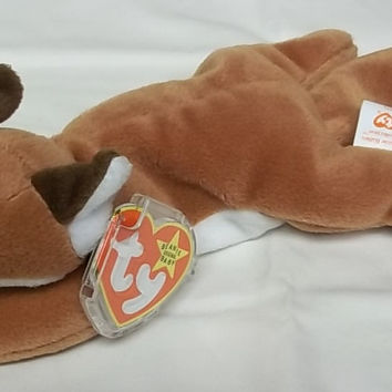 Ty Beanie Babies Sly the Fox with White Belly -- Used