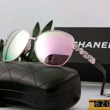 Chanel Fashion Popular Sun Shades Eyeglasses Glasses Sunglasses G-A-SDYJ