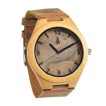 Wooden Watch // Walnut Burl