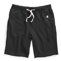 Cut Off Sweat Shorts in Black