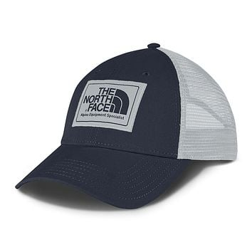 Mudder Trucker Hat in Urban Navy & High Rise Grey by The North Face