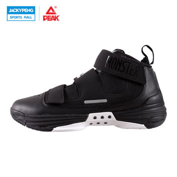 PEAK SPORT Monster III Men Basketball Shoes Breathable Athletic Sneakers FOOTHOLD Tech Wear-resistant Non-Slip Ankle Boots