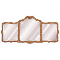 Hickory Manor House 8265BAR Avignon Baroque Mantle Mirror - (In BAR-Baroque (Premium)) (Clearance Priced)