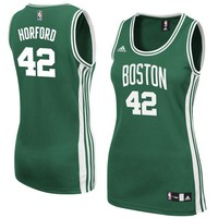Women's Boston Celtics Al Horford adidas Kelly Green Replica Jersey
