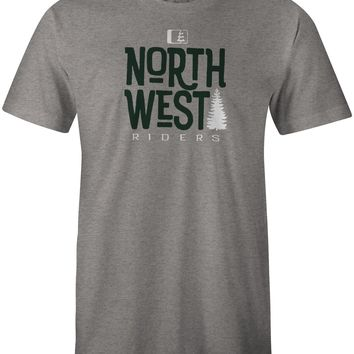 Treed Up T-Shirt Dark Grey Heather